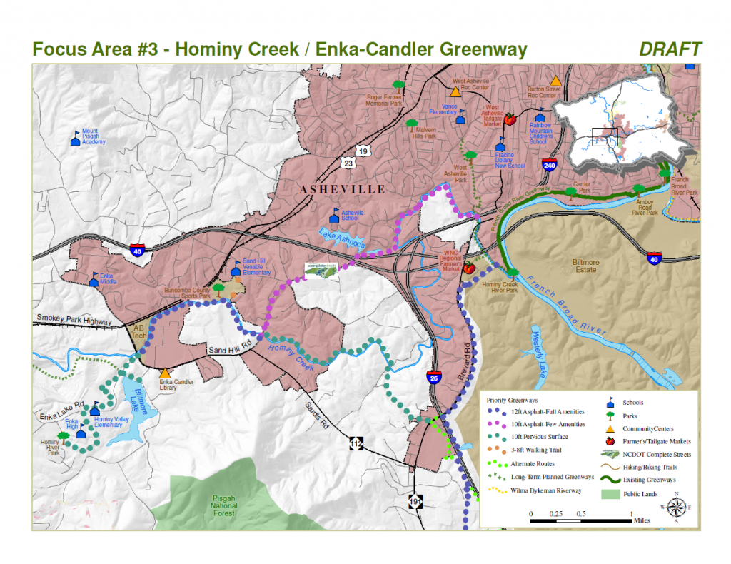 Hominy Creek / Enka-Candler Greenway Plan (Draft)